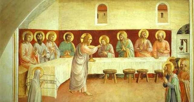 Istituzione Eucarestia - Beato Angelico