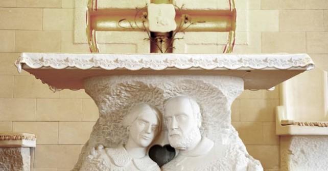 Santi Luigi e Zelia Martin - Altare della Cappella Martin