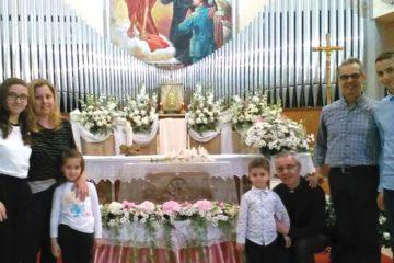 Don Silvio e famiglia Pace