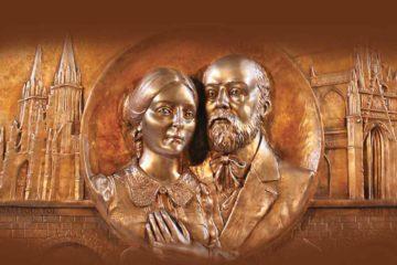 Particolare del Reliquiario dei Santi Luigi e Zelia Martin