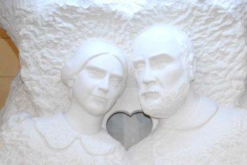 Statue Altare Luigi e Zelia
