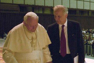 Giovanni Paolo II e Carlo Casini