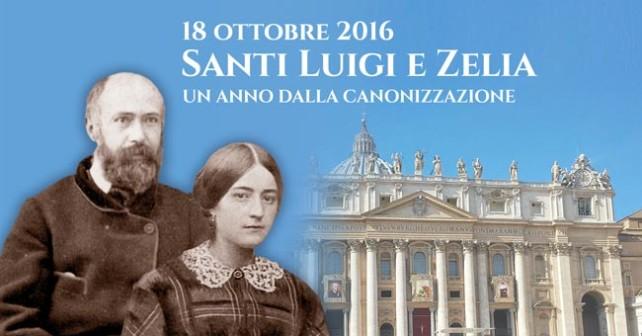 Canonizzazione Luigi e Zelia