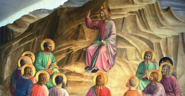 Beato Angelico - Discorso della montagna