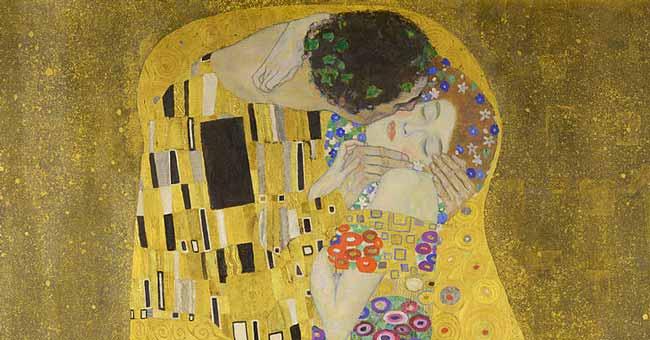 Klimt - Il bacio