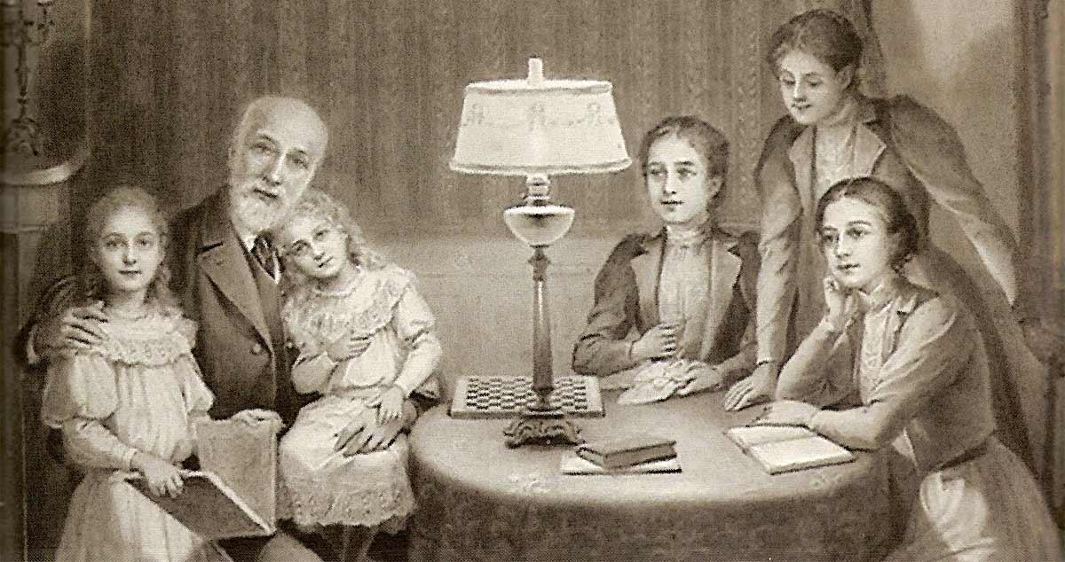 Luigi Martin e le figlie