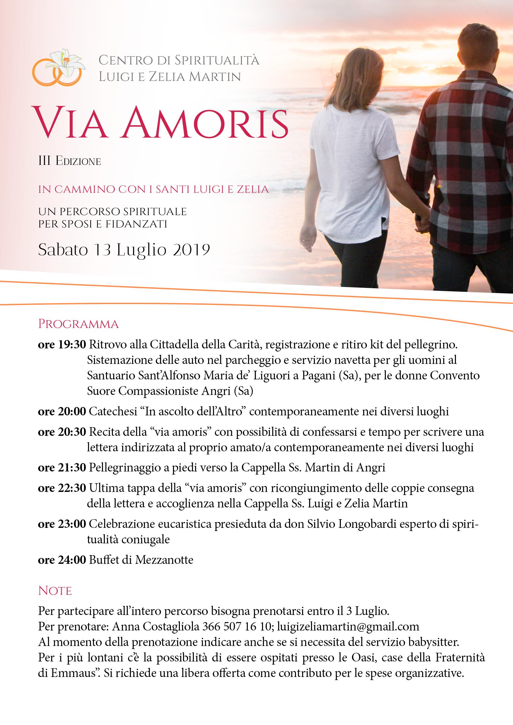 locandina VIA AMORIS 2019