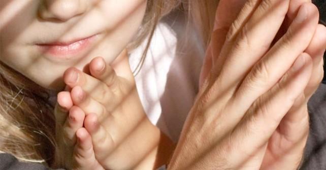 pregare con i figli